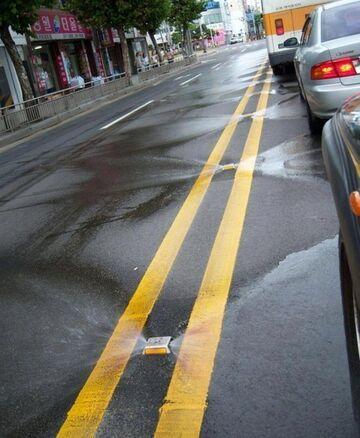 Samoczyszcząca ulica w Korei