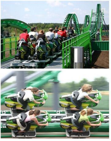 Motorcycle Rollercoaster