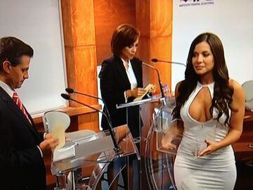 Tymczasem w Meksyku na debacie prezydenckiej