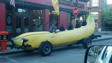 Bananowy samochód