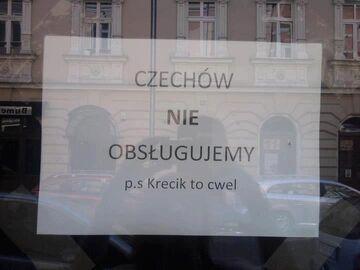 Czechów nie obsługujemy