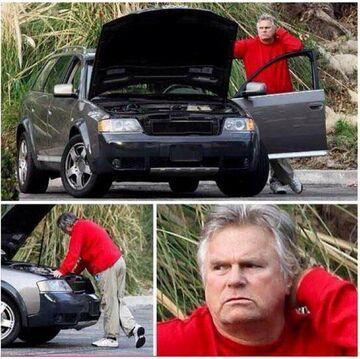 MacGyver nie potrafi naprawić samochodu
