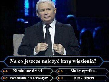 Kaczyński w milionerach