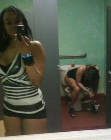 Girl Self Shot Fails