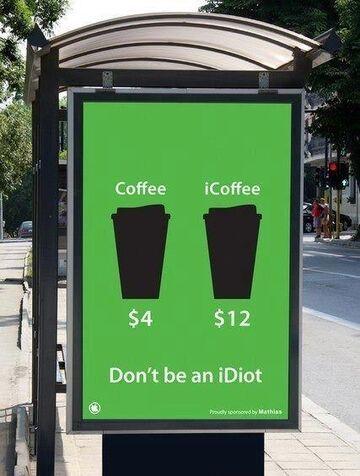 Coffee vs iCoffee