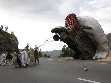 Ciężarówka w Pakistanie