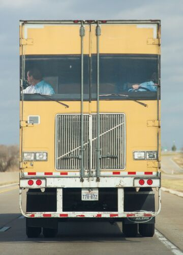 Najlepszy Tył ciężarówki!