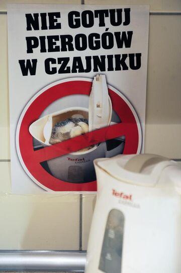 Nie gotuj pierogów w czajniku!