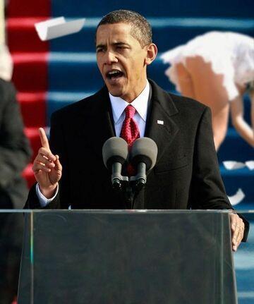 Spójrz za Obamę