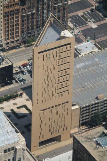 Wieżowiec - Więzienie w Chicago