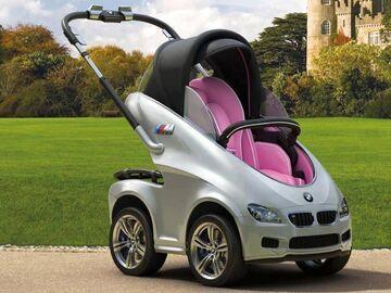 Wózek dziecięcy BMW