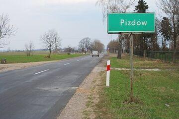 Pizdów - Miejscowość