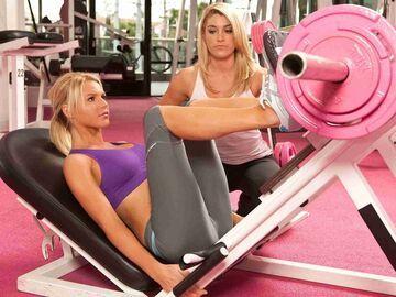 Różowa siłownia?!