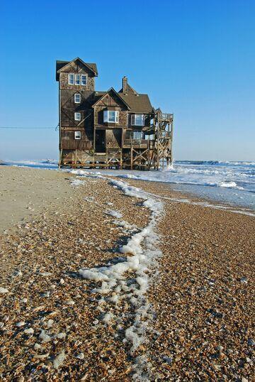 Relaks: Domek na plaży