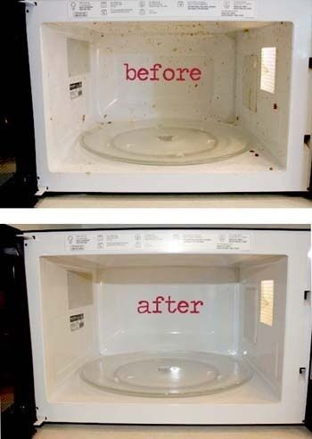 Super szybki trik na umycie mikrofalówki, bez wysiłku!