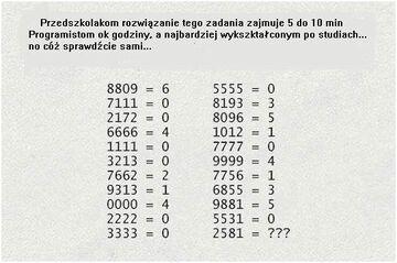 Znasz rozwiązanie?