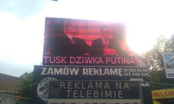 """""""Tusk dziwka Putina"""""""