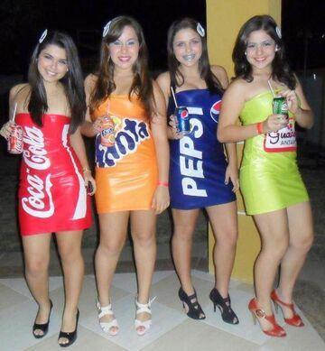 Coca-Cola, Fanta, Pepsi, Guarana