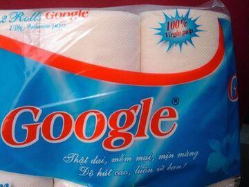 Google - Papier toaletowy