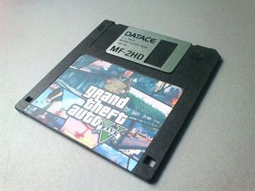 Grand Theft Auto - Diskette 3,5