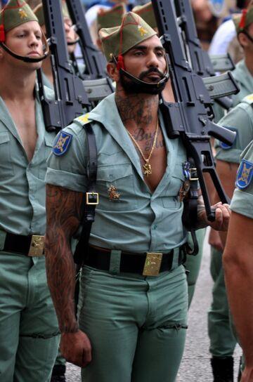 Hiszpański mundur