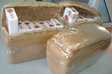 Papierosy w chlebie z Białorusi.