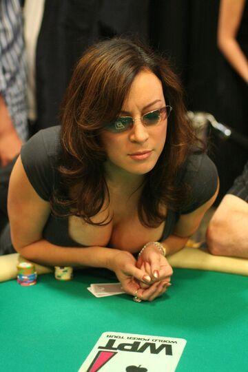 Young Jennifer Tilly - Poker