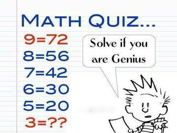 Rozwiąż jeśli jesteś geniuszem!