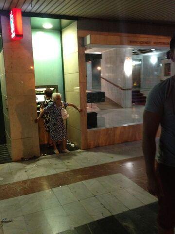 Ochrona przy bankomacie