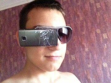 Google Glass z Rosji