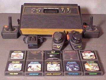 Atari 2600 - Cały zestaw!