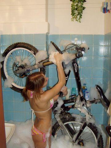 a Ty, jak myjesz rower?