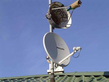Antena satelitarna - Jupiszi