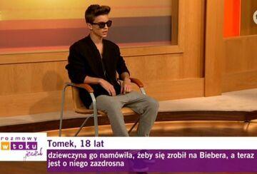 Tomek, lat 18 - Polski Justin Bieber - Rozmowy w Toku