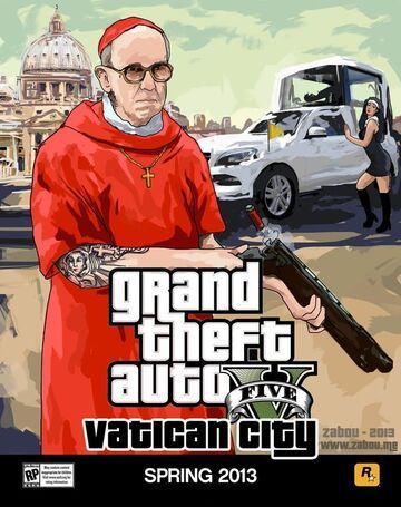 GTA V - Vatican City