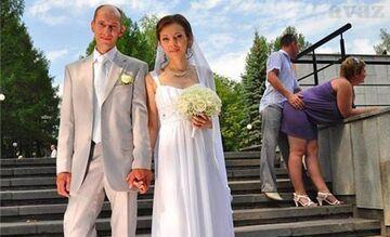 Od tyłu - Wpadka weselna