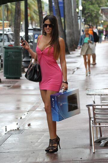 Claudia Romani z Playstation 4