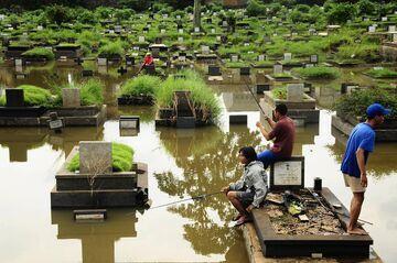 Tymczasem na cmentarzu