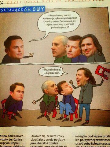 Komiks z ostatniej Polityki