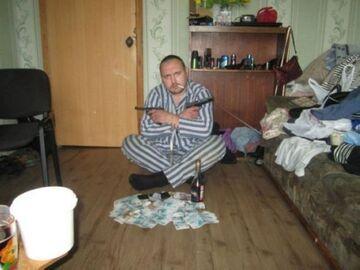 Gangster w pasiastej piżamie