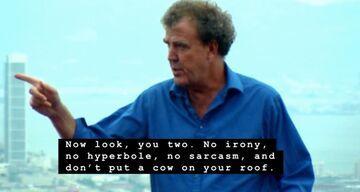 Clarkson do kolegów z Top Gear