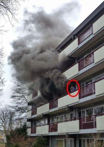 Pożar u sąsiada, interesujące
