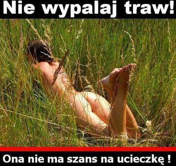 Nie wypalaj traw!