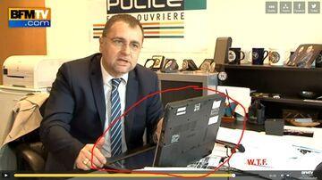 Wpadka z laptopem, król Internetów