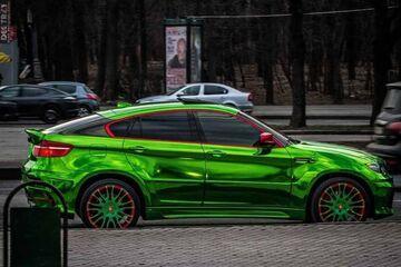 BMW serii 5 - Seledyn metalic