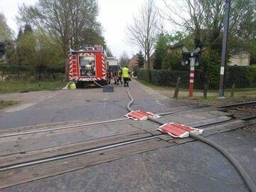 Zabezpieczenie węża strażackie przed pociągiem?