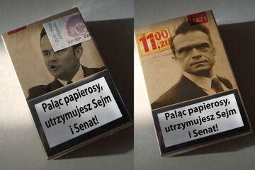 Palący papierosy, utrzymują Sejm i Senat!