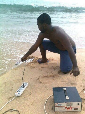 Jak podgrzać wodę w oceanie?