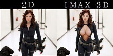 2D  vs IMAX 3D