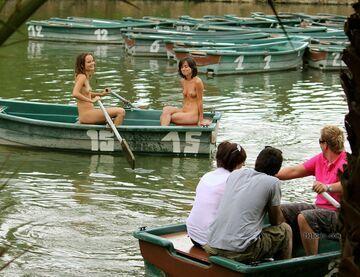 Takie tam, na łódce